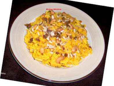 Recipe Microwave sweet saffron rice (zarda)