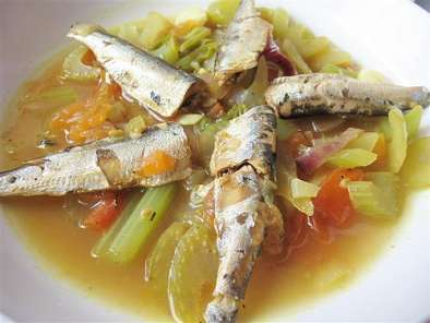 Recipe Brisling sardines curry
