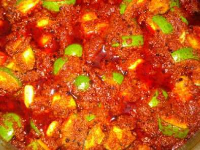 Recipe Mango pickle