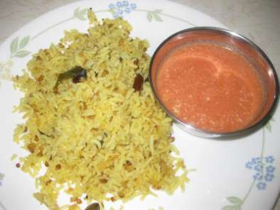 Recipe Pulagam (moong dal rice )