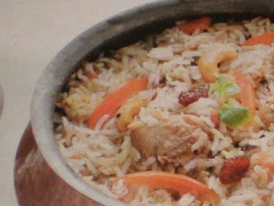 Recipe Hyderabadi murg ( chicken ) dum biryani