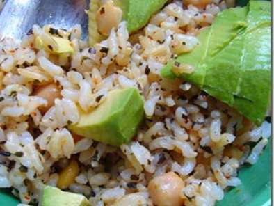 Recipe Olive oil and basil brown rice