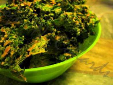 Recipe cheezy kale chips