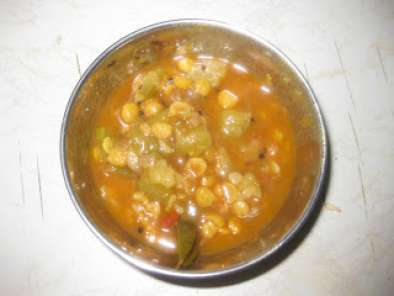 Recipe Beerakaya senaga pappu kura / ridgegourd with channa dal curry