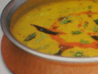 Recipe Puneri amti ( dal curry with pune - style masala )