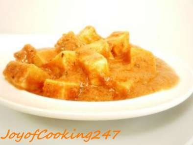 Recipe Sinful paneer tikka masala in microwave!!