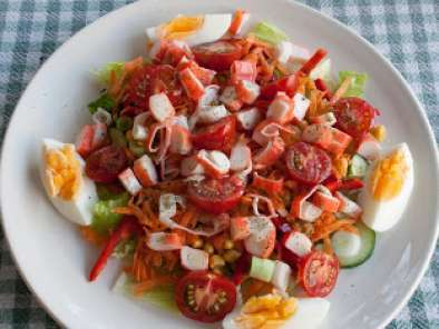 Recipe Recipe: crab stick salad