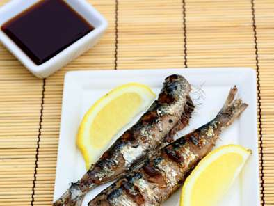 Recipe Iwashi no Shioyaki Salt Grilled Sardines