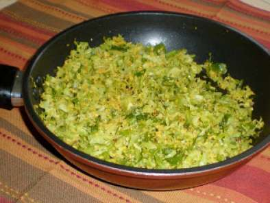Recipe Baby cabbage thoran / cabbage sukke