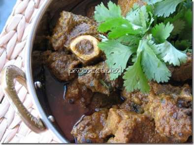 Recipe Mutton curry