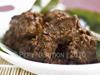 Recipe Beef rendang - rendang daging