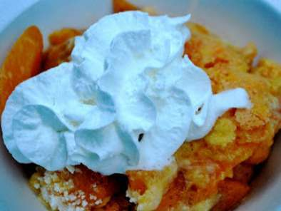 Recipe Dutch oven peach and mandarin orange cobbler