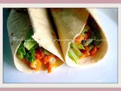 Recipe Gobi tikka wrap
