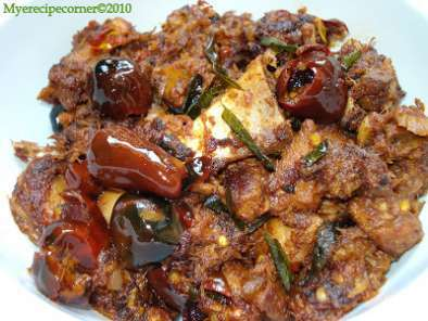 Recipe Mutton chukka varuval( spicy lamb dry fry)