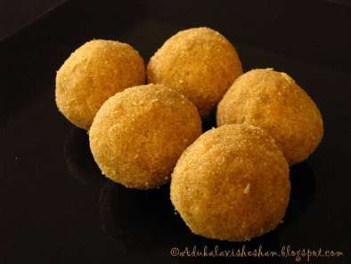Recipe Naadan ariyunda / rice ladoo