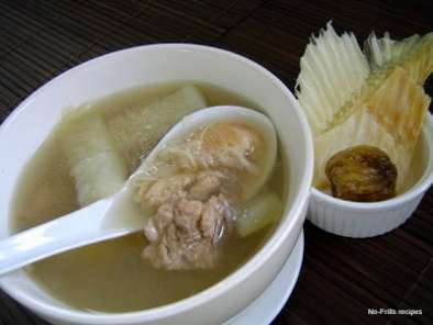 Recipe Shark's fin melon pork ribs soup ~ ' malaysian monday no. 2'