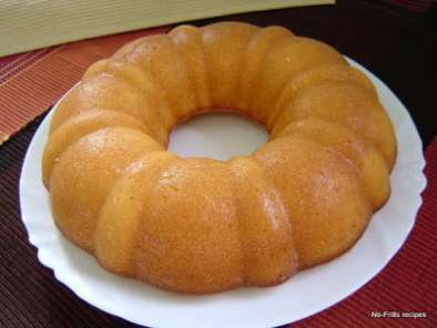 Recipe Lemon yoghurt cake
