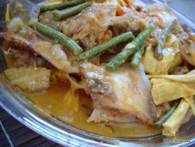 Recipe Assam fish head curry ~ 'malaysian monday 1'
