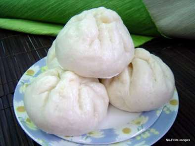 Recipe Cream custard bun ~ pau