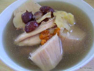 Recipe Arrowroot ~ 'fun kot' soup