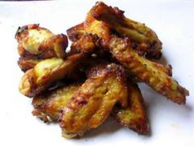 Recipe Honey-baked teriyaki chicken wings