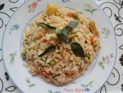 Recipe Vegetable pulav