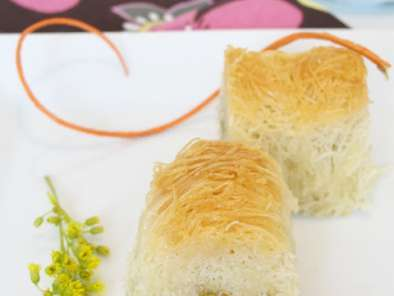 Recipe Cinnamon & orange blossom kataifi rolls