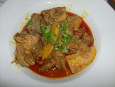Recipe East indian mutton curry
