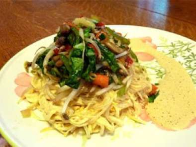Recipe Recipe of the week: vegetable satay on zucchini and kelp noodles