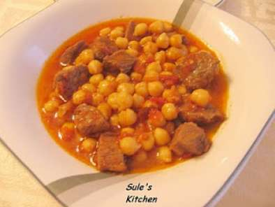 Recipe Chick pea stew (etli nohut)