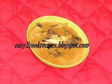 Recipe Aathukal kulambu / goat leg curry