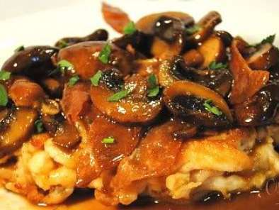 Recipe Chicken marsala - sweet tea cosmo - chocolate peanut butter cupcakes