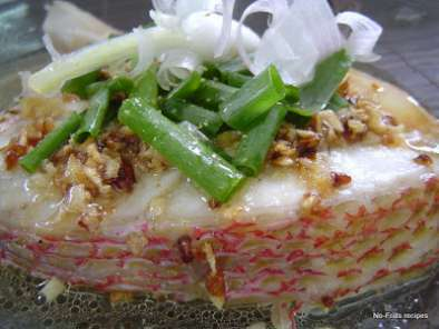 Recipe Steamed fish fillet