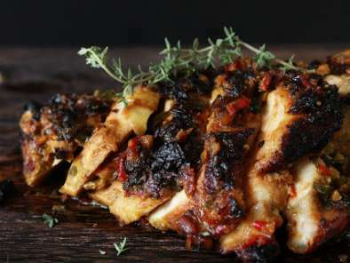 A SPICY BASTE & GRILLED CHICKEN ~ AYAM PERCIK