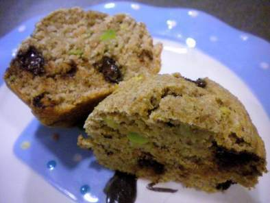 Avocado Chocolate Chip Muffins, photo 3