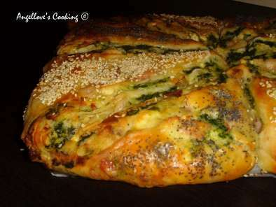 Bacon and Spinach Turkish Bread (Borek), Photo 2
