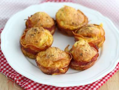 Bacon muffins - Video recipe!