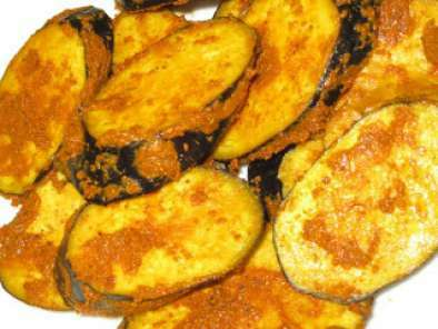 Baigan Tava Fry (Brinjal Grilled), Photo 2