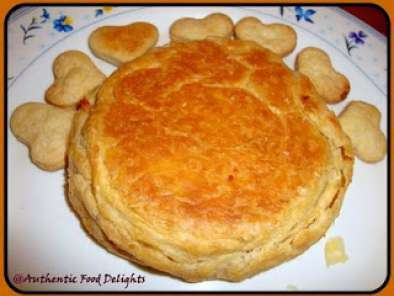 Bakery Style Dil Pasand( Sweet Puffs Filled With Coconut and Tuti-Fruity), photo 3