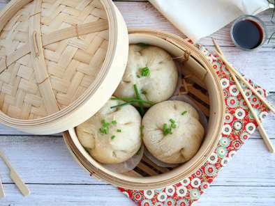 Bao buns, little steamed stuffed-buns