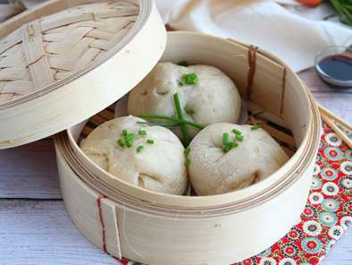 Bao buns, little steamed stuffed-buns, photo 2