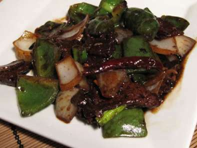 Beef and Green Peppers in Black Bean Sauce, photo 2