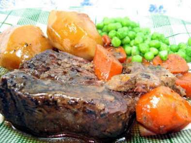 BEEF POT ROAST (OVEN BRAISED)