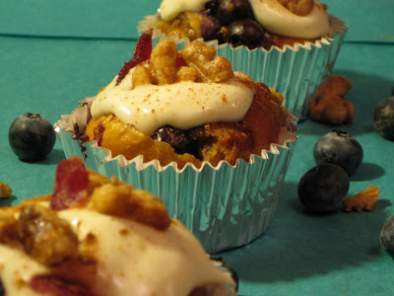 Blueberry French Toast Cupcakes, Photo 3