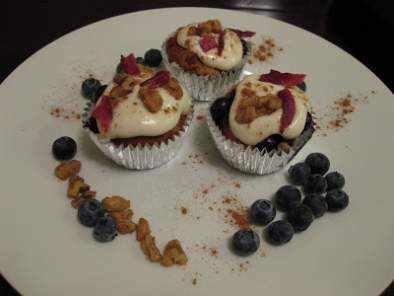 Blueberry French Toast Cupcakes, Photo 4