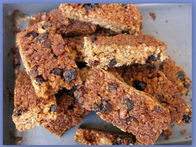 BLUEBERRY OAT WALNUT GRANOLA BARS...Yummy mouthful!, photo 2