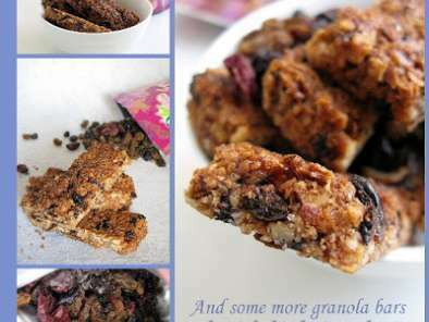 BLUEBERRY OAT WALNUT GRANOLA BARS...Yummy mouthful!, photo 3
