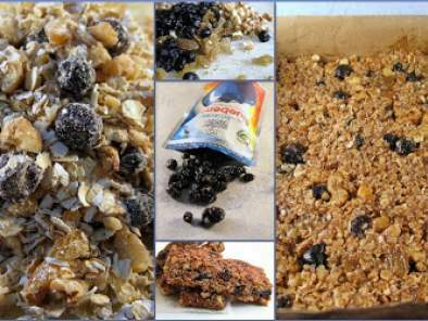 BLUEBERRY OAT WALNUT GRANOLA BARS...Yummy mouthful!, photo 7