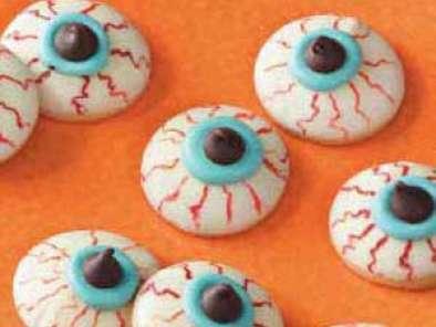 Boooooo Super Easy Halloween Cookies Recipe Petitchef