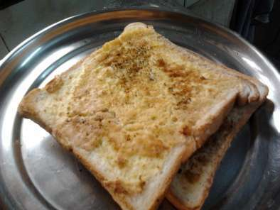 Bread Omlette (a new way of eating bread and egg)